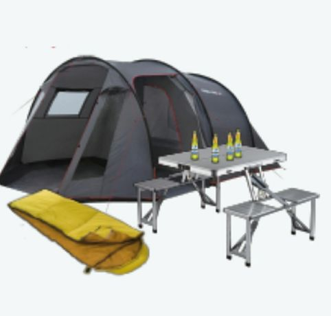 Kit camping 4 persoane