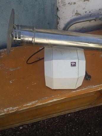 Продам электрическую турбину для вытяжки дыма из ОГВ