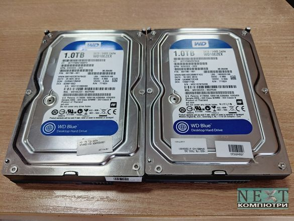 """1TB твърд диск 3,5"""" WD Caviar Blue SATA3 7200 64MB + Гаранция"""