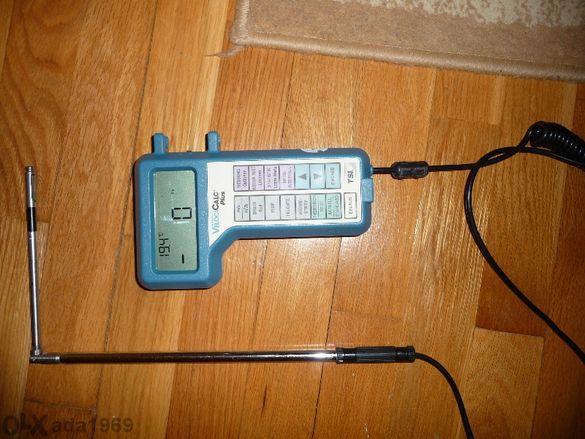 Мултифункционален уред за измерване параметри на вентилационни сис