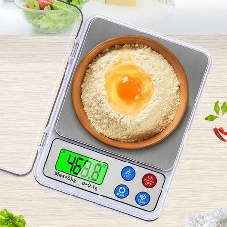 Кухонные высокоточные цифровые весы от 0.1 г / 6 кг., MH-555