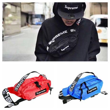 ТоП модела Supreme чанта за кръст паласка - през гърди или врат