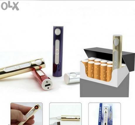Промо Цена !! USB запалка/lighter за цигари без пламък, със зарядно !!