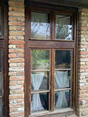 НОВИ Дървени дограми за прозорци (различни размери)