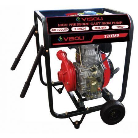 Motopompa Apa Diesel Irigatii Visoli 3 Toli Refulare 102M Verticala