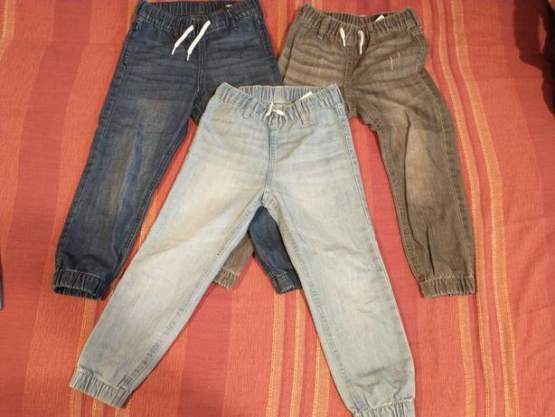 Set pantaloni jogging denim, blugi, H&M