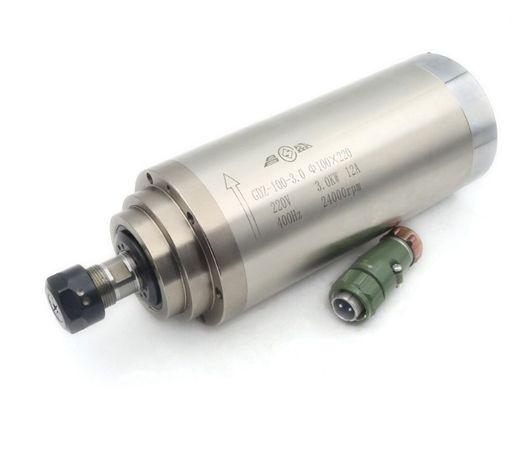 Motor freza/cnc/router 3 kW, 24000 rpm, ER20, racire apa