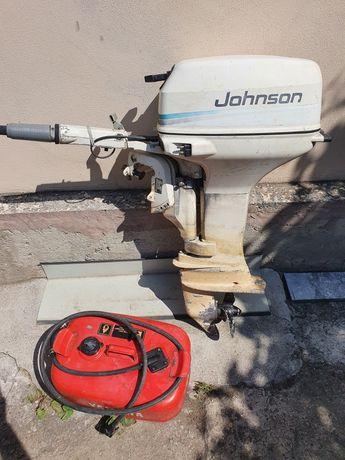 Vând motor barca Jonhson 6cp 4timpi 4,5kw 31kg fabricat USA