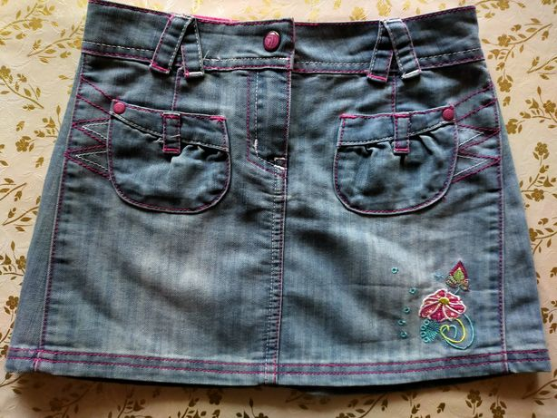 Джинсовая юбка,детская одежда,одежда для девочек,юбка