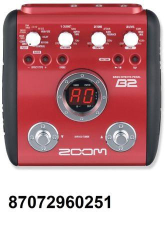 Процессор для бас гитары Zoom B2