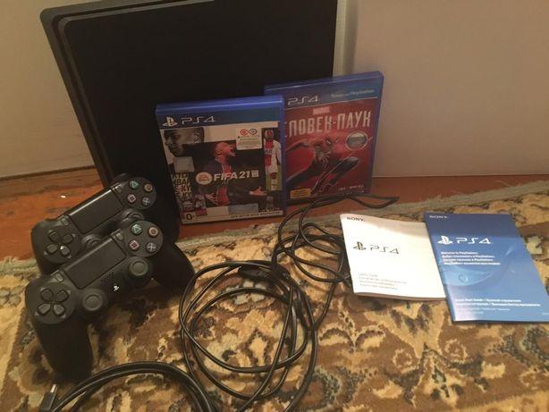 Продам приставку Sony PlayStation Slim память 1 трбайт