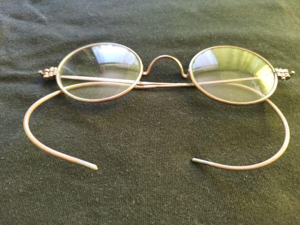 Стари сребърни очила
