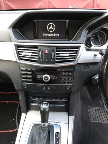 Navigatie Mercedes E class W212 dispaly cd player Joystick