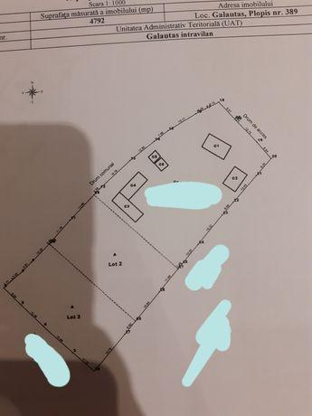 Vand teren intravilan 1/1 intabulat