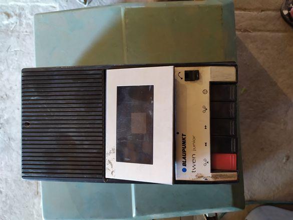 Ретро радио и касетофон Blaupunkt Grundig Vef