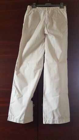 Pantaloni albi bumbac