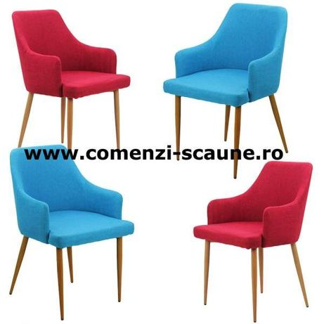 Set 4 scaune bucatarie tapitate NOI-Livrare Gratuita