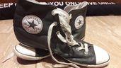 Дамски кожени сиви кецове Converse 40