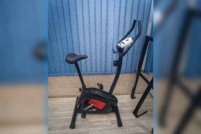 Черный Велотренажер магнитный AF -1017