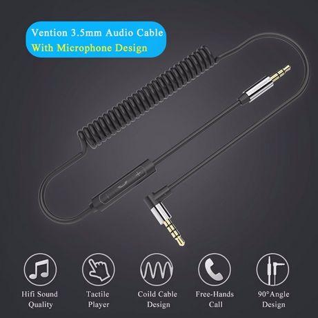 Аудиокабель с микрофоном Vention Audio Cable