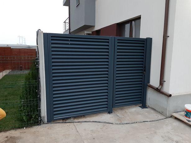 Porti fier forjat,grilaje ,confectii metalice,gard beton