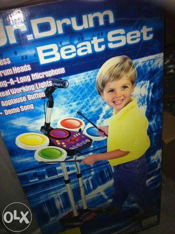 Jucărie tobe cu karaoke
