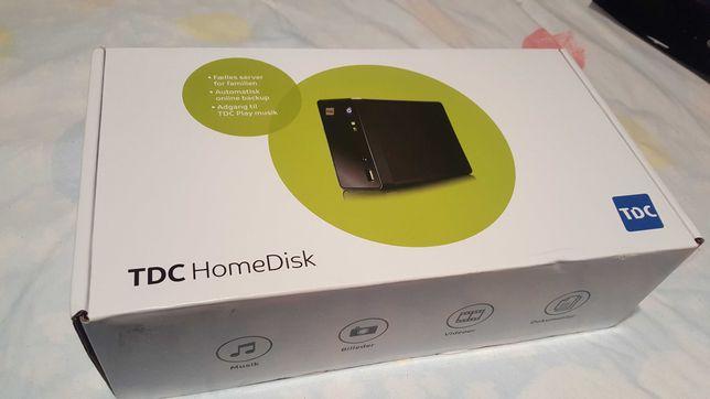 NAS TDC HomeDisk ZYXEL NSA310 pt 1 hdd SATA