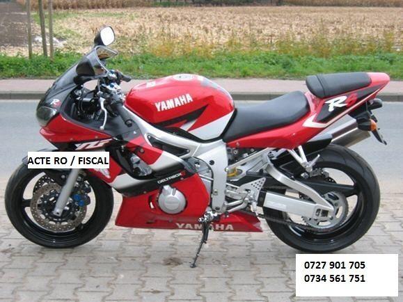 Piese dezmembrari Yamaha R6 an 2000 - inmatriculat ro