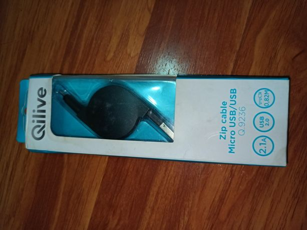 Cablu zip micro usb/usb