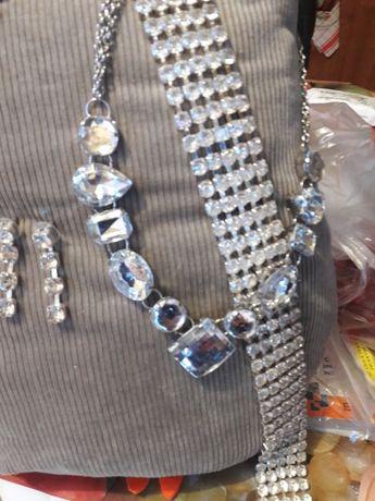 Vând set bijuterii pietre semiprețioase