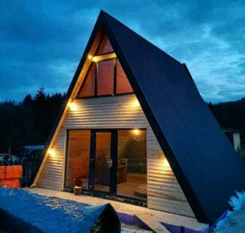 Confectionam case cabane tip A la cel mai bun preț