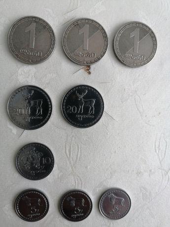 Монеты Грузии для коллекции