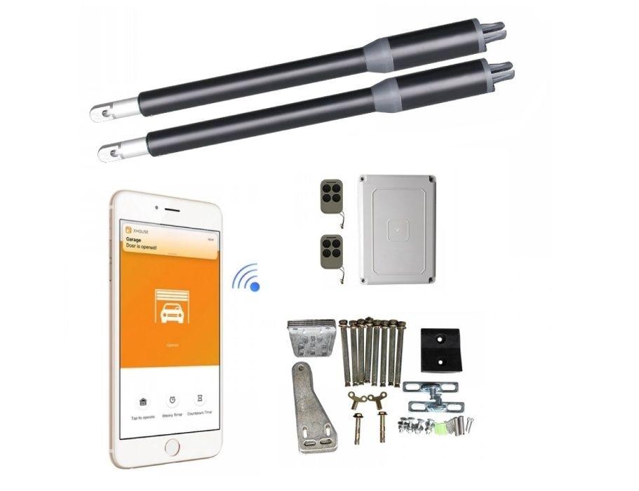 NOU Kit Automatizare SMART Wifi Porti Batante Sistem deschidere poarta