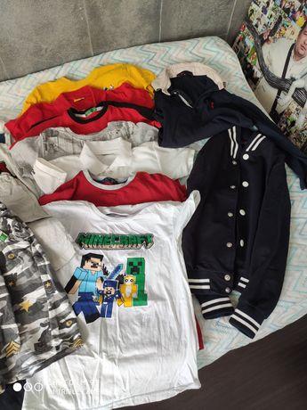 Пакет вещей на мальчика рост 122-128