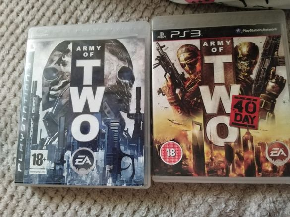 Игри за ps3 Army of two и Army of two 40th day