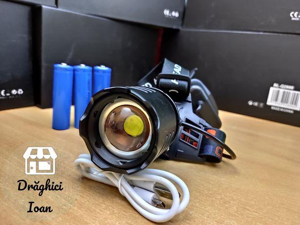 XHP90.2 - Cea mai puternica lanterna de cap cu NEW LED QUADCORE 2020