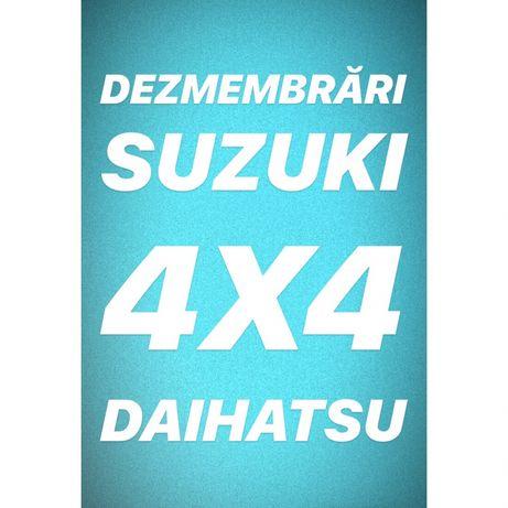 Dezmembrări SUZUKI jimny vitara samurai grand vitara 4X4
