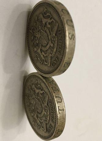 Monede one pound 1983