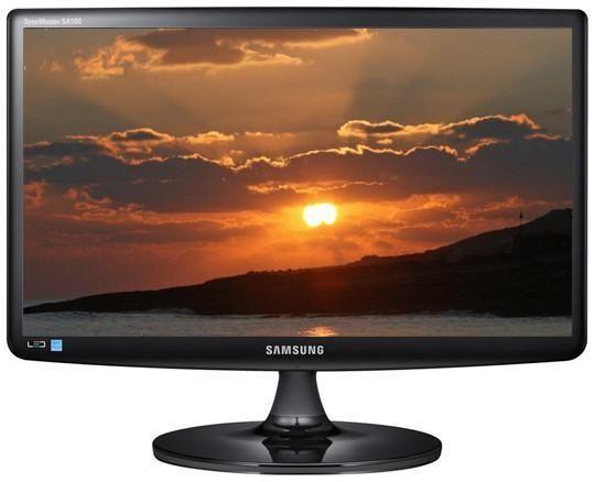 """ЖК монитор 21.5"""" Samsung S22A100N (LCD, 1920x1080, D-Sub)"""