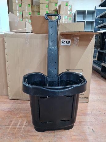 Кошница за пазаруване с колела 40лт