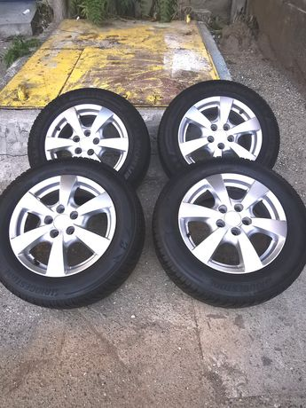 Jante aliaj RONAL R15 pt Vw, Audi, Skoda, Seat 5×100 6,5J×15H2 ET 38