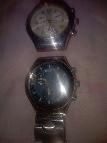 Vind 2 Ceasuri swatch cronograf originale 140 lei Bucata .