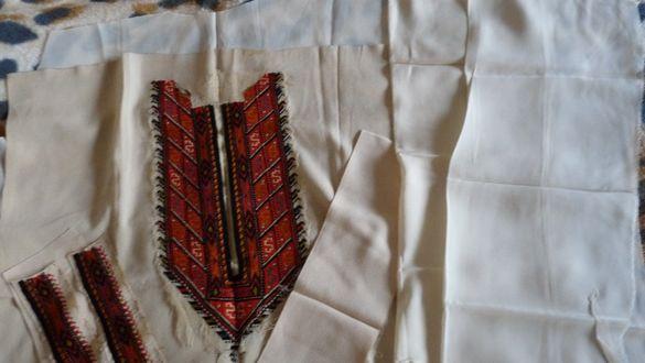 Копринени заготовки и модели за блузи/ризи/, шевици, конци