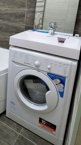 Раковина умывальник над стиральной машиной