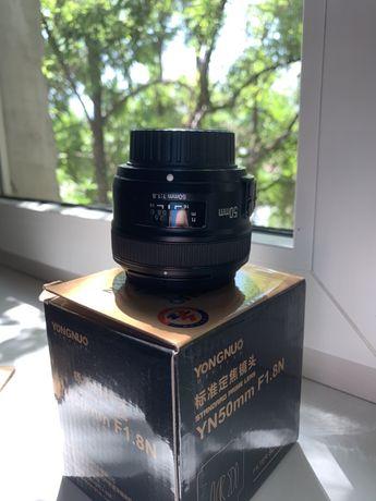 Объектив Yongnuo YN50mm F1.8 N