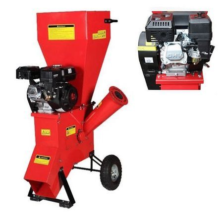 Tocator crengi benzina OHV 6.5CP 4 timpi , Diametru taiere lemn 766 mm