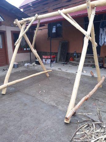 Vand leagăn,  lemn esenta tare