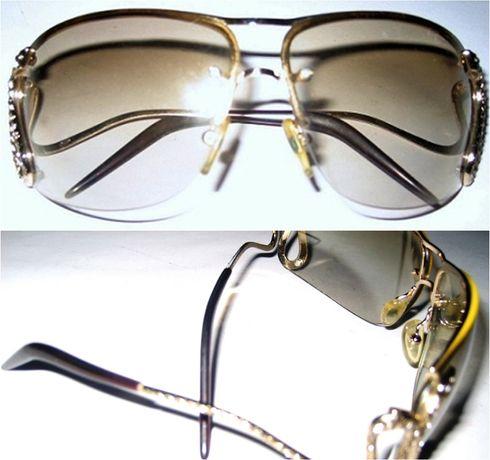 Брендовые солнцезащитные очки Роберто Кавалли, б/у - 12,000 тенге