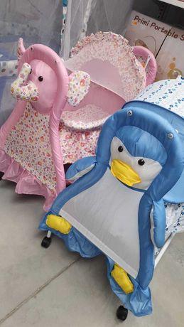 Кошара бебе розова и синя