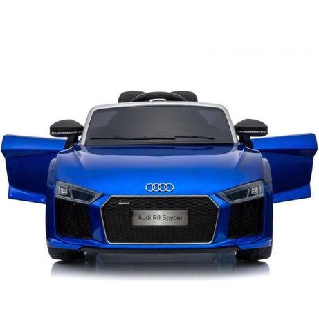 Masinuta electrica pt copii AUDI R8 SPYDER (HL-R8) albastru metalizat